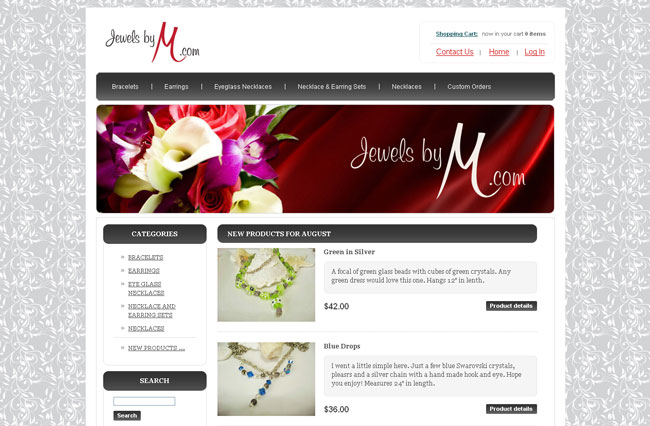 Jewels By M - Handcrafted Beaded Jewelry