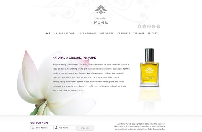 Lucy Miller Pure Rare Hand-Blended Perfume