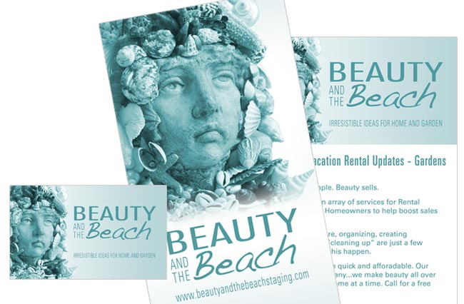 Beauty and the Beach Staging